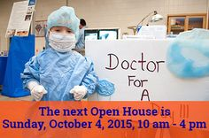 On Oct. 4, 2015, more than 300 veterinary students host the annual CVM Open House. There are more than 40 exhibits and demos, and lots of animals to see.