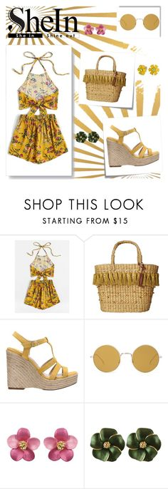 """""""Sunny floral..."""" by puljarevic ❤ liked on Polyvore featuring Post-It, White Stuff, Paloma Barceló, Illesteva and Bling Jewelry"""