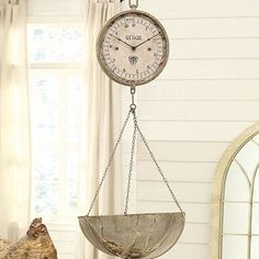 Hanging Scale Clock 1