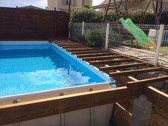 piscine et spa intex ultrasilver enterre - Intex Above Ground Pool Decks