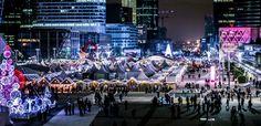 Le village de Noël de La Défense fête ses 20 ans ! | Defacto - Quartier d'affaires de la Défense