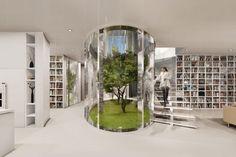 Living Trees Grow Inside Mansion's Oval Atrium - My Modern Metropolis