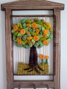 El rincon de Pati/Facebook Tapestry Weaving, Tapestries, Margarita, Felt, Textiles, Embroidery, Frame, Handmade, Contemporary Rugs