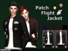 SIMSCLUB — [Patch Flight Jacket] EA Mesh Don't Re-upload ...