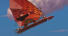 Solar surfer! A new level of awesome. #treasureplanet