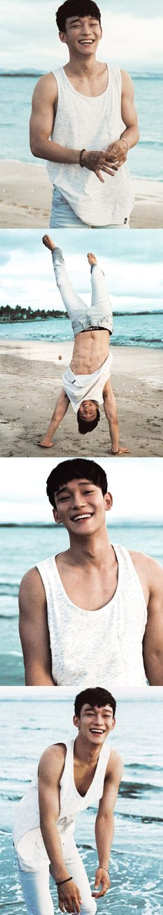 Jongdae is so happy :)