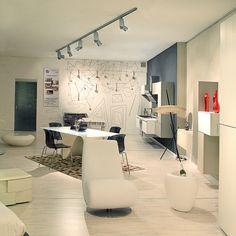 LUCITALIA - DIAMOND 2A Track Lighting, Conference Room, Diamond, Table, Furniture, Home Decor, Decoration Home, Room Decor, Diamonds