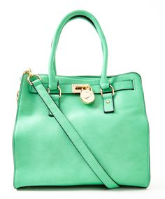 Another great find on #zulily! Green Plora Shoulder Bag by MKF Collection #zulilyfinds