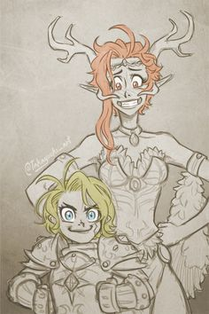 Keyleth and Pike