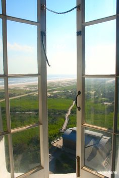 View from the Lighthouse  Fire Island New York