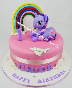 My Little Pony Birthday Cake Childrens
