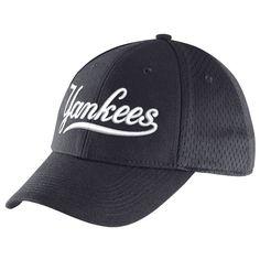 New York Yankees Nike Dri-FIT Mesh Back Swoosh Flex Hat - Navy - $24.99