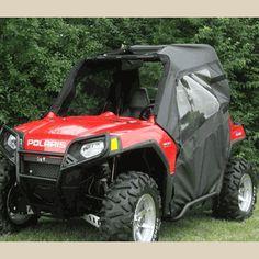 4pc UTV Roll Cage Light Bar Mount Bracket 1.75 Ranger RZR RZR4 XP 1000 900 800s