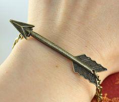 The Hunger Games Inspired Arrow bracelet