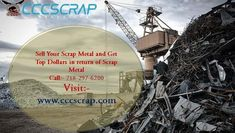 Make instant cash by selling scrap metal by contacting #CCCScrap. Call us: +1(718)-297-6200 for removing industrial scrap, metal pickup and container services. #Scrap_Metal_Recycling_Yard_Bronx #Bronx_Scrap_Yards #scrap_yard_near_me_Bronx #Long_Island_City_Scrap_Yards Scrap Recycling, Manhattan City, Metal Prices, Instant Cash, Long Island, Yards, Copper, How To Remove, Industrial