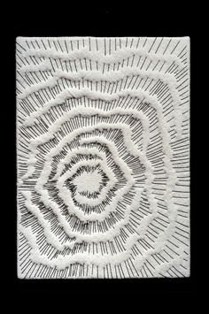 Sashiko Fabric - Plumeria Floating on Water - Sylvia Pippen Sashiko Pre-printed Fabric Kit - Japanese Embroidery, Quilting, Sewing - Embroidery Design Guide Abstract Embroidery, Sashiko Embroidery, Embroidery Art, Embroidery Stitches, Machine Embroidery, Embroidery Designs, Textiles Techniques, Embroidery Techniques, Bordados E Cia
