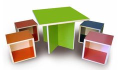 Recycled Paper Furniture - Way Basics is a line of colorful and family-friendly eco furniture that makes your interiors fun. Way Basics furniture is made entirely from recycl. Simple Furniture, Cardboard Furniture, Inexpensive Furniture, Deco Furniture, Funky Furniture, Furniture Styles, Kids Furniture, Furniture Design, Classic Furniture