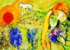 Marc Chagall - Between Surrealism & NeoPrimitivism - Les Amoureux de Vence