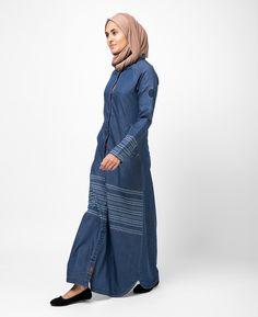 f4ff497c68473e Islamic Clothing for Women Denim Abaya
