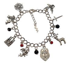 Game of thrones themed  charm  bracelet, #silver #plate - same day #postage,  View more on the LINK: http://www.zeppy.io/product/gb/2/112201362685/
