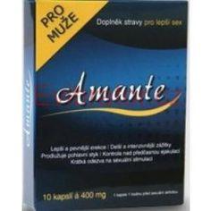 Amante - doplnok stravy pre lepší sex 10 kaps