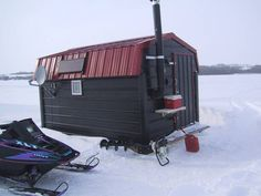 Ice fishing shack..Saskatchewan style! - Menoutdoors.Com