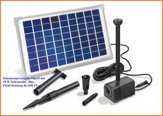 Solarpumpensystem Napoli mit 10 W Solarmodul  Max. Förderleistung bis 600 l/h