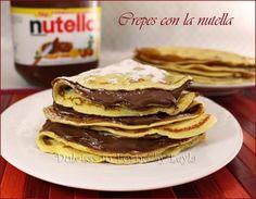 Crepes alla nutella e alla marmellata: ricetta semplicissima, piuttosto veloce e molto versatile, adattata sia per le crepes salate che per quelle dolci.