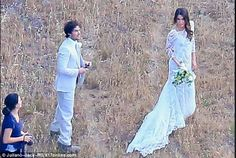 Ian Somerhalder and Nikki Reed Wedding 04/26/15