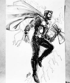 Ethereal Learn To Draw Comics Ideas. Fantastic Learn To Draw Comics Ideas. Ms Marvel, Marvel Comics, Marvel Art, Marvel Heroes, Drawing Cartoon Characters, Character Drawing, Comic Character, Cartoon Drawings, Thor Drawing