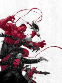 despondentparamour:   Thunderbolts #1 cover by... - Art Vault