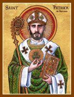 Patrick of Ireland icon by Theophilia on DeviantArt : St. Patrick of Ireland icon by Theophilia on DeviantArt Catholic Art, Catholic Saints, Roman Catholic, Religious Images, Religious Art, Catholic Pictures, Spiritus, Art Icon, Sacred Art