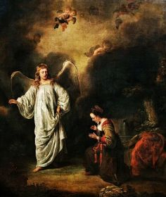 Ferdinand Bol: Hagar Meeting The Angel In The Desert