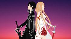 Sword Art Online-Kirito and Asuna by Cresceria on DeviantArt