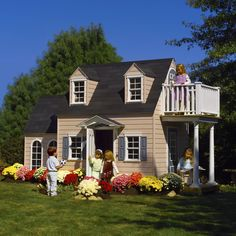 How to Buld a Playhouse Plans - http://www.freecycleusa.com/how-to-buld-a-playhouse-plans/