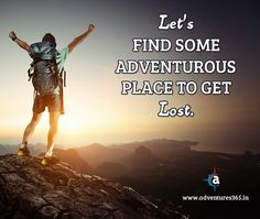 Let's #Find some #Adventurous #Place to get #Lost  #Adventure #travel #holiday #trending #MyAdventure #MakeInIndia