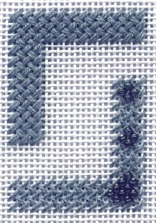 Woven stitch. Great tutorial showing many examples