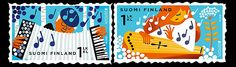Europa 2014 - National Instruments issued by Finland! #stamps #Finland #europastamps http://wopa-stamps.com/index.php?controller=country&action=stampRelatedIssue&id=12744