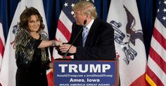 Donald Trump gets Sarah Palin's endorsement