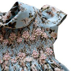 Fashion Kids, Fashion Sewing, Baby Girl Frock Design, Baby Girl Dress Patterns, Baby Girl Frocks, Frocks For Girls, Girls Smocked Dresses, Little Girl Dresses, Punto Smok