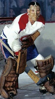 Jacques Plante also played for Edmonton. Ice Hockey Rink, Hockey Goalie, Hockey Games, Montreal Canadiens, Nhl Hockey Scores, Hockey Pictures, Goalie Mask, Nfl, Marvel