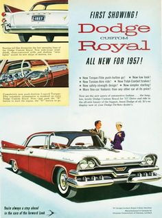 """I remember the ad campaign, """"The cars with the 'forward' look."""""""