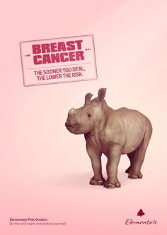 Elementais: Baby Breast Cancer. The sooner you deal, the lower the risk.