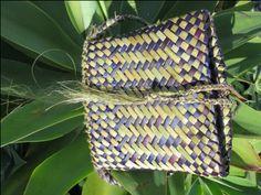Flax Weaving - Backpack
