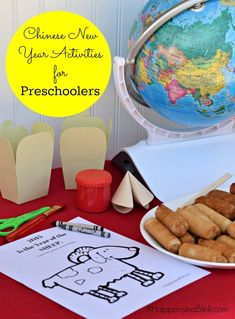 Chinese New Year Activities for Preschoolers Chinese New Year Activities, Chinese New Year Crafts, New Years Activities, Winter Activities, Preschool Activity Sheets, Free Preschool, Preschool Activities, New Year's Crafts, Creative Crafts