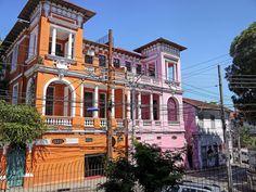 Casas Geminadas - Casas Antigas - Santa Teresa - Rio de Janeiro - Brasil