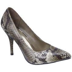 $30 Women's Mossimo® Vivian Pointy Heel - Natural