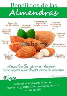 Beneficios de las Almendras