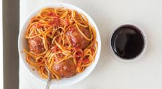 How to Pair Spaghetti and Meatballs with Tuscan Wine Wine Enthusiast Magazine, Spaghetti And Meatballs, Pork Chops, Dinner Recipes, Pasta, Ethnic Recipes, Food, Meal, Essen