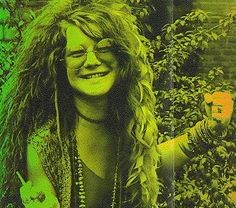 """I might be the first hippy pinup girl."" - Janis Joplin."